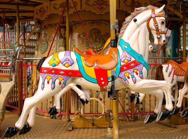 Carousel at Dan Nicholas Park