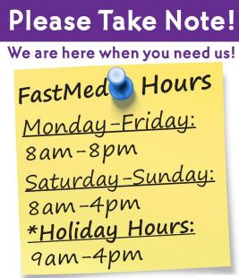 Urgent Care Hours