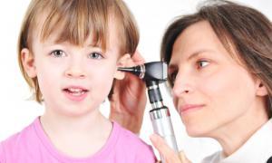 ear infection rash