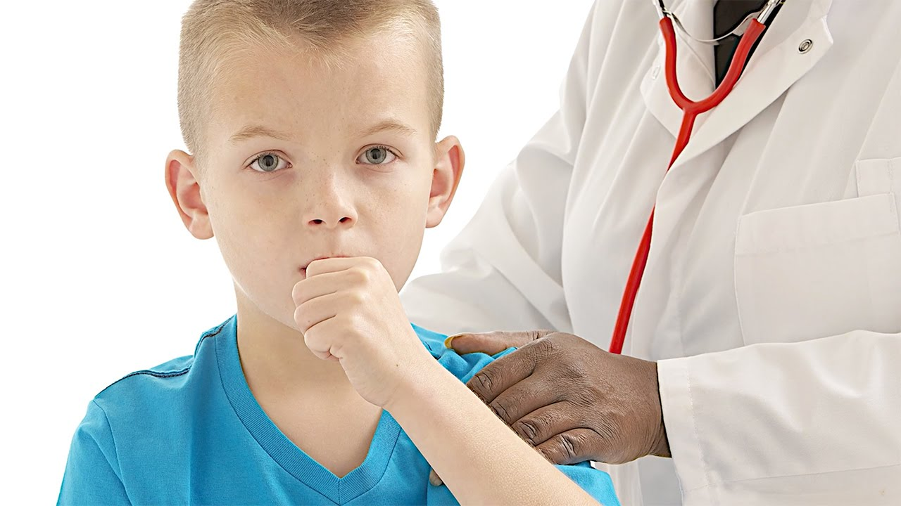 boy with a cough