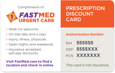 Prescription Discount Card